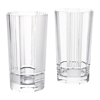 Mercer Crystal Highball Glasses - Set of 2