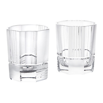 Mercer Crystal DOF Glasses - Set of 2