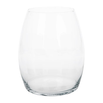 Rounded Accent Glass Vase