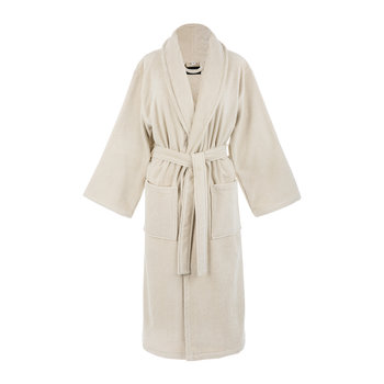 Linen Velour Bathrobe
