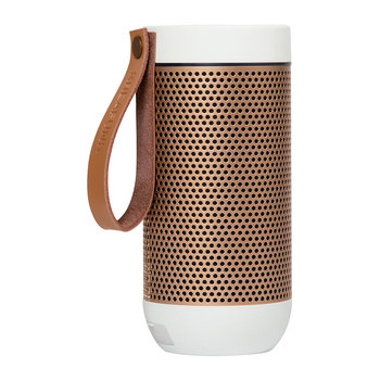 aFunk 360 Degrees Bluetooth Speaker - White/Rose Gold