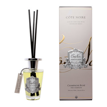 Gourmandise Silver Reed Diffuser - Pink Champagne - 150ml