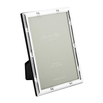 Bamboo Photo Frame - Silver