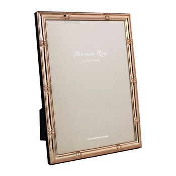 Bamboo Photo Frame - Rose Gold