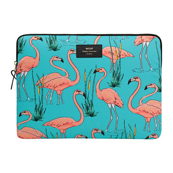 Pink Flamingos Laptop Case