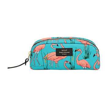 Trousse de Toilette Flamants Roses