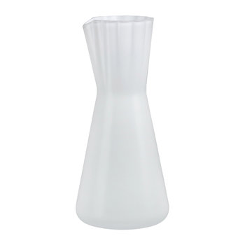 Lady Water Carafe - White