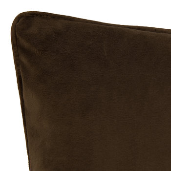 Velvet Cushion - Bourbon