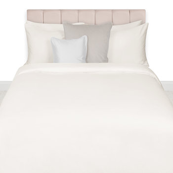 Egyptian Cotton Quilt Cover - Ivory