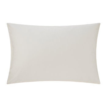 Egyptian Cotton Standard Pillowcase Pair - Ivory