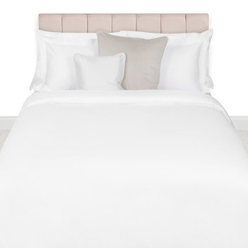 500 Thread Count Sateen Duvet Cover - White