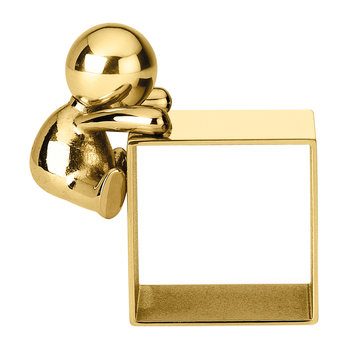 Omini Brass Napkin Ring - Design 1