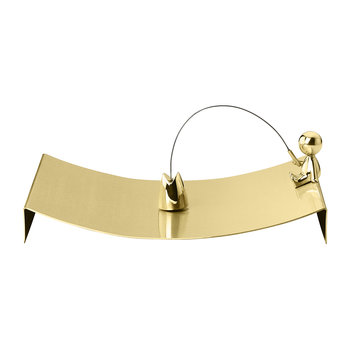 The Fisherman Omini Brass Napkin Tray