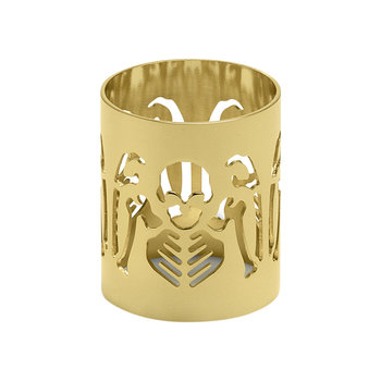 Perished Napkin Holder - Gold
