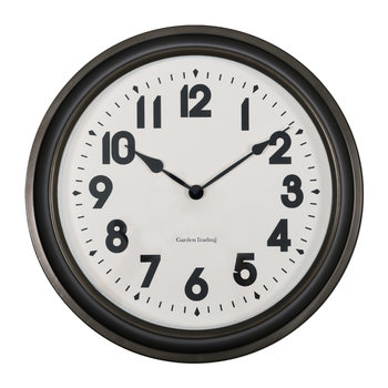 Broadway Wall Clock - Gunmetal
