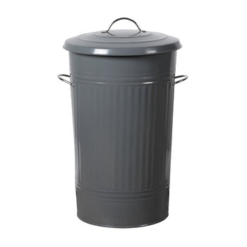 Steel Kitchen Bin - Charcoal