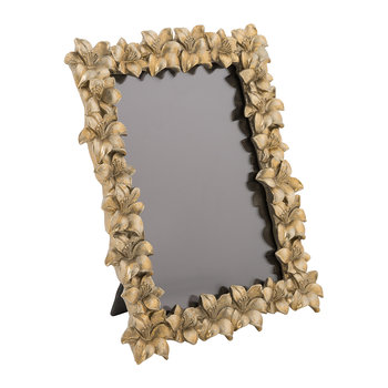 Gold Floral Photo Frame