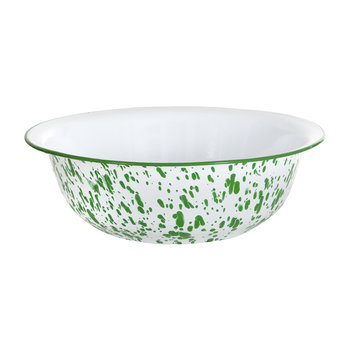 Keswick Mottled Enamel Salad Bowl - Peashoot