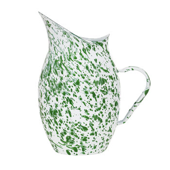 Keswick Mottled Enamel Water Pitcher - Peashoot
