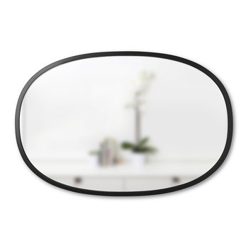 Hub Oval Mirror - Black