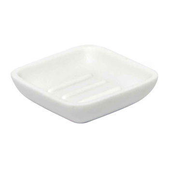 Junip Soap Dish - White