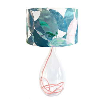 Falling Leaves in Winter Lampshade