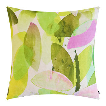 Seasons Square Cushion - 45x45cm - Falling Leaves in Spring