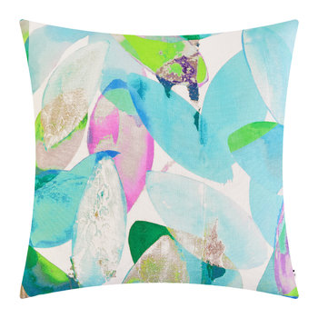 Seasons Square Cushion - 45x45cm - Falling Leaves in Summer
