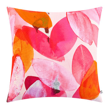 Seasons Square Cushion - 45x45cm - Falling Leaves in Autumn