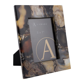 Agate Photo Frame - 5x7 - Dark