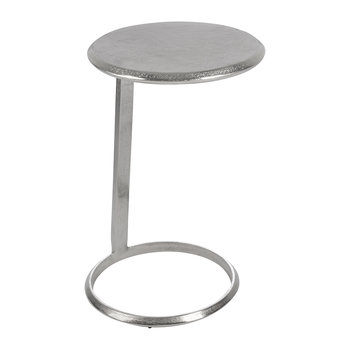 Leaning Side Table - Silver