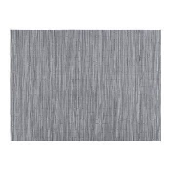 Bamboo Rectangle Placemat - Fog