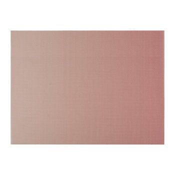 Glow Rectangle Placemat - Guava