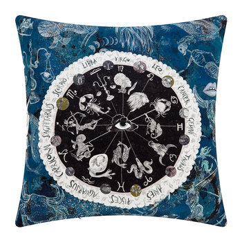 Zodiac Wheel Pillow - Square - 45x45cm