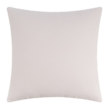 Diamond Textured Cushion - 50x50cm - Pink