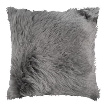 Sheepskin Pillow - 45x45cm - Grey