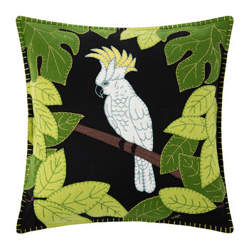 Tropical Cockatoo Pillow - 46x46cm