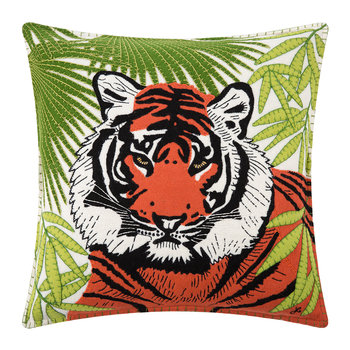 Paradise Tiger Pillow - 46x46cm
