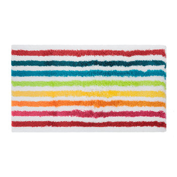 Rainbow Stripe Bath Mat