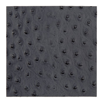 Emu Effect Recycled Leather Placemat - Slate