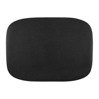 Vegan Leather Placemat - Black