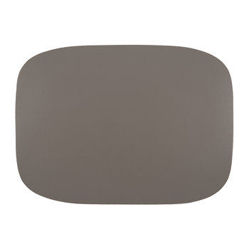 Vegan Leather Placemat - Taupe