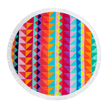 Tangalle Round Beach Towel
