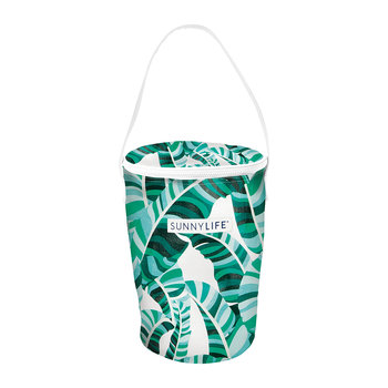 Banana Palm Cooler Bucket Bag