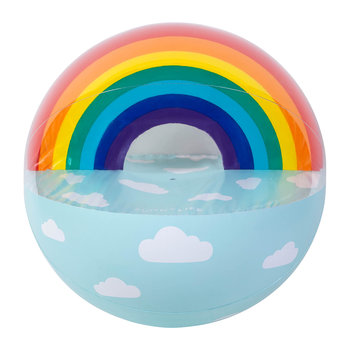 Extra Large Inflatable Ball - Rainbow
