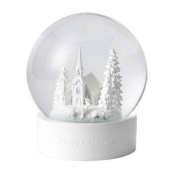 Winter Scene Snow Globe
