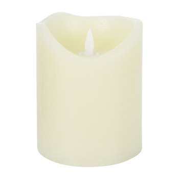 Almond Sara Exclusive LED Candle