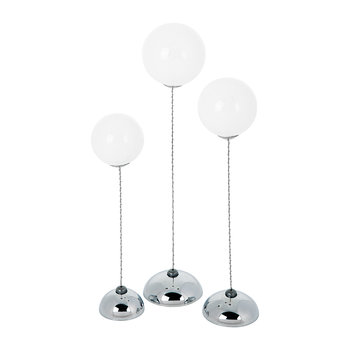 Heaven Trio Lights - White/Silver - Set of 3