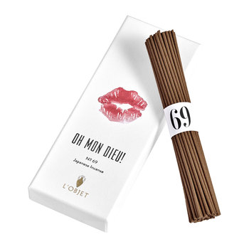 On Mon Dieu Japanese Incense - Parfums De Voyage No. 69 - 60 Sticks