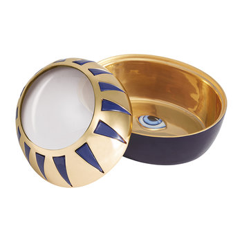 Lito Eye Magnifying Box - Blue & Gold